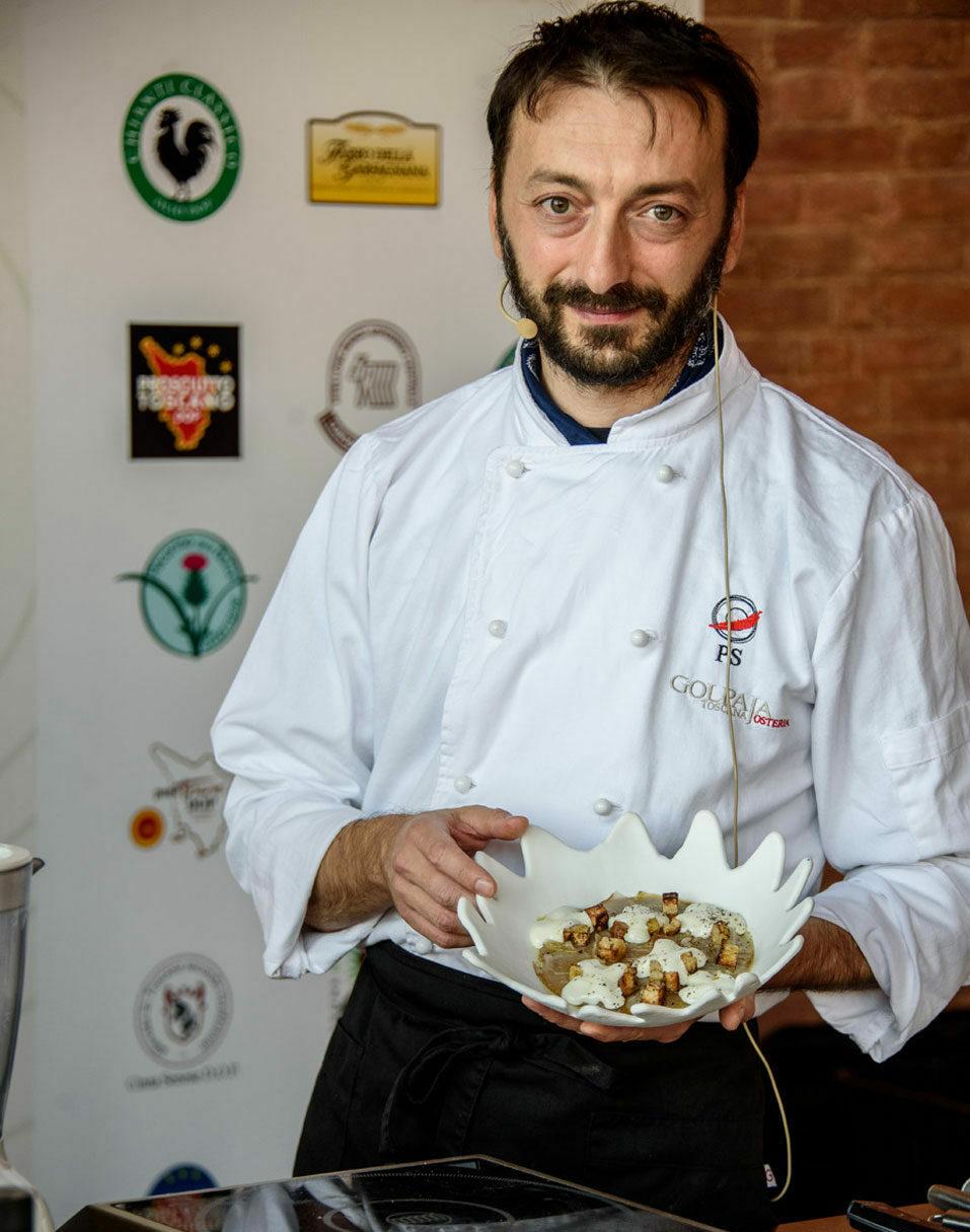 Chef Stefano Pinciaroli
