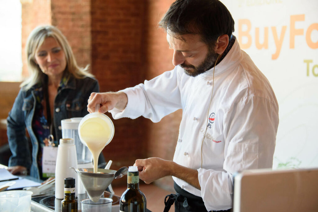 Cooking show con lo chef Stefano Pinciaroli